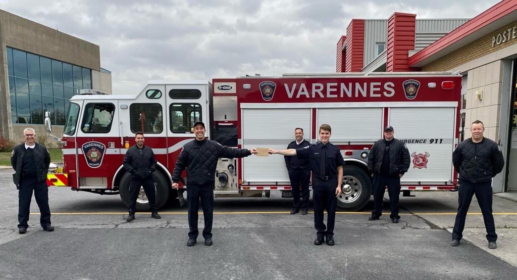 Quatre bourses de 1 000 $ remises à des étudiants de Varennes
