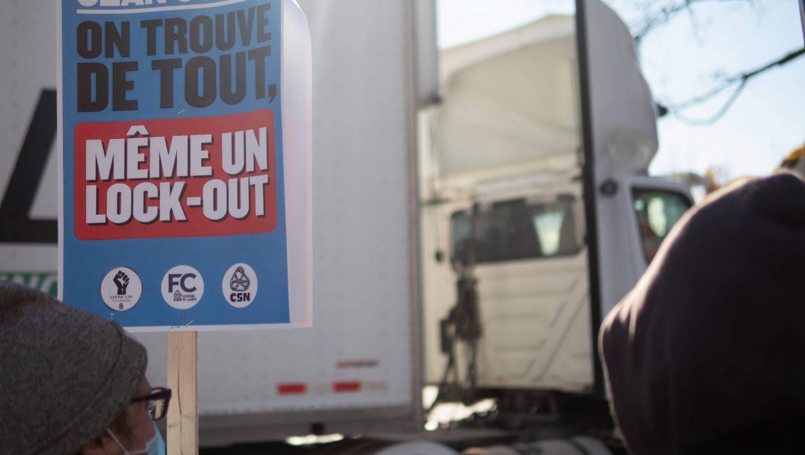 Lock-out à l'entrepôt Jean Coutu: le Tribunal administratif intervient