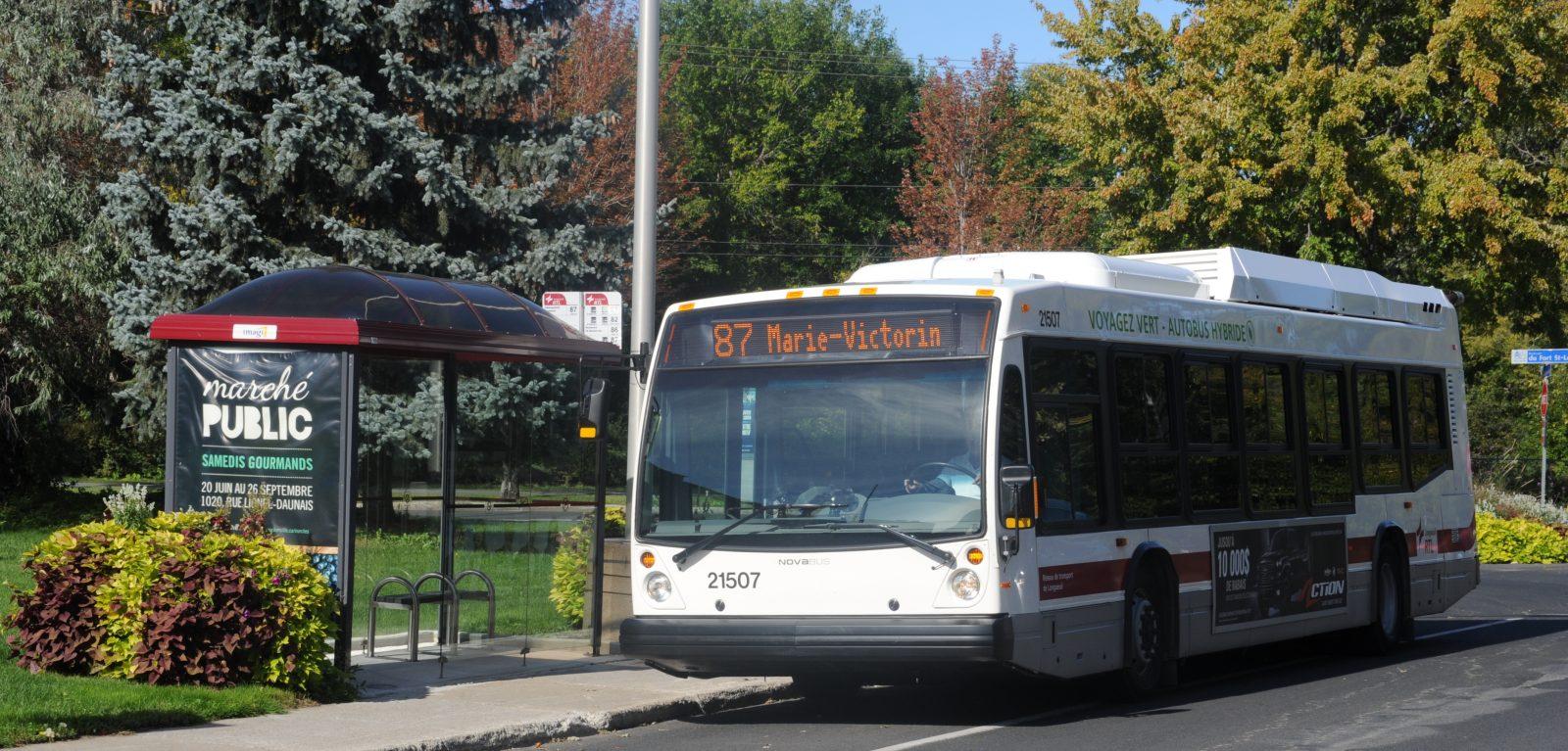 Transport en commun sur la Rive-Sud : il faut diversifier les sources de revenus et augmenter le financement, croit la Ville de Longueuil