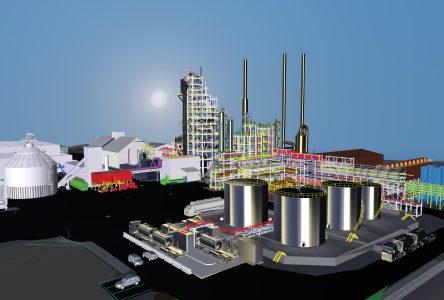Un projet évalué à 875 M$ pour construire une nouvelle usine de biocarburants à Varennes