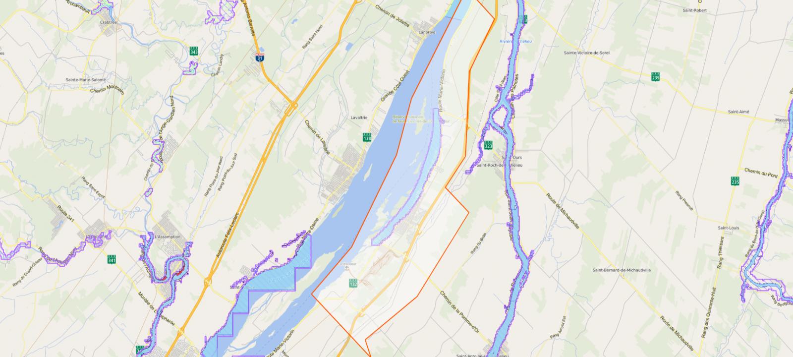 Contrecœur demande à Québec de reformuler le projet de loi 67 sur les zones inondables