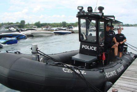 La patrouille nautique est sauvée