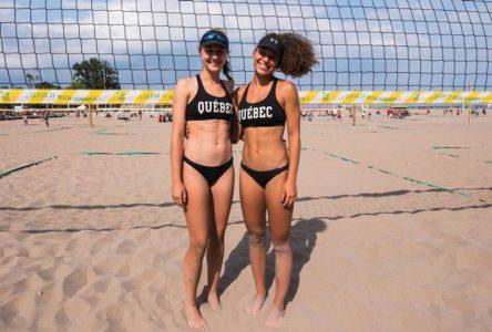 Volleyball de plage: Audry Gauthier de Boucherville atteint la Division 1 de la NCA