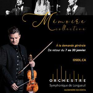 Concert mémoire collective, jusqu'au 30 janvier
