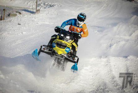 Émeric Legendre-Perron impressionne en snocross au Championnat américain Amsoil Snocross