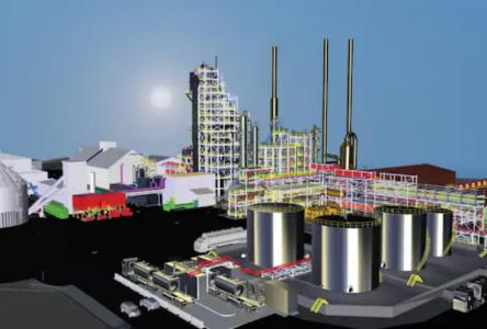 Shell investit 350 M$ dans l'usine d'Enerkem à Varennes