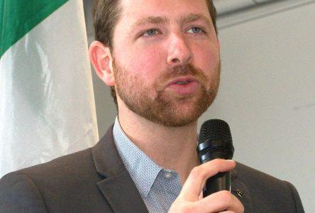 Xavier Barsalou-Duval a l'intention d'être à nouveau candidat du Bloc québécois aux prochaines élections