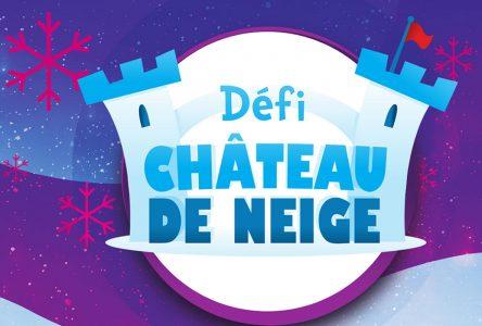 Défi Château de neige 2021: la Ville de Contrecœur invite ses citoyens à participer!