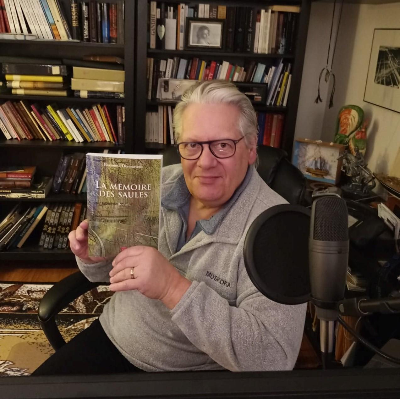 Un nouveau roman pour Raymond Desmarteau : La Mémoire des saules
