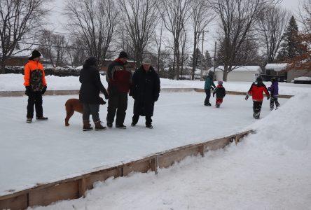 Les patinoires communautaires ont la cote cette année à Boucherville