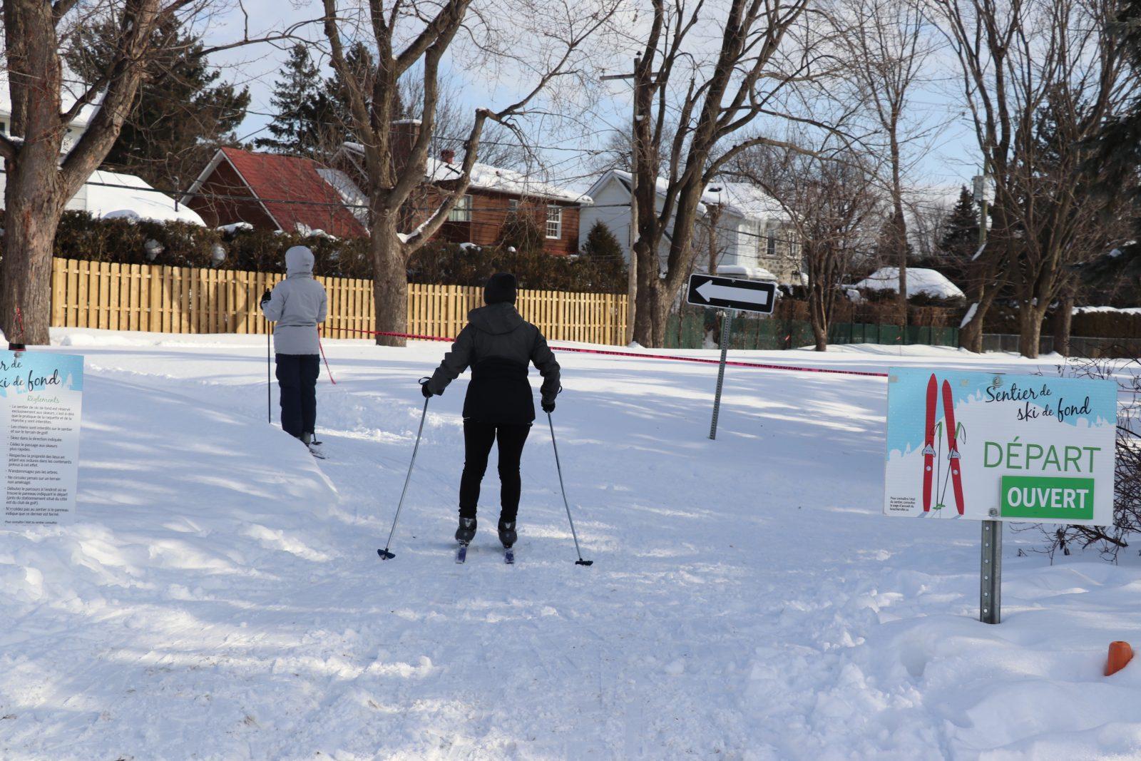 Fort engouement pour le ski de fond au Club de golf de Boucherville