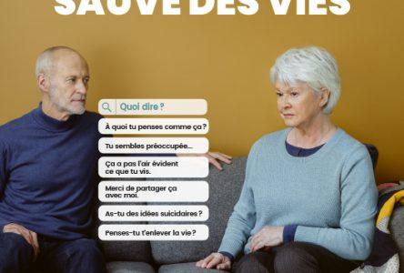 Semaine de prévention du suicide du 31 janvier au 6 février: Parler du suicide sauve des vies