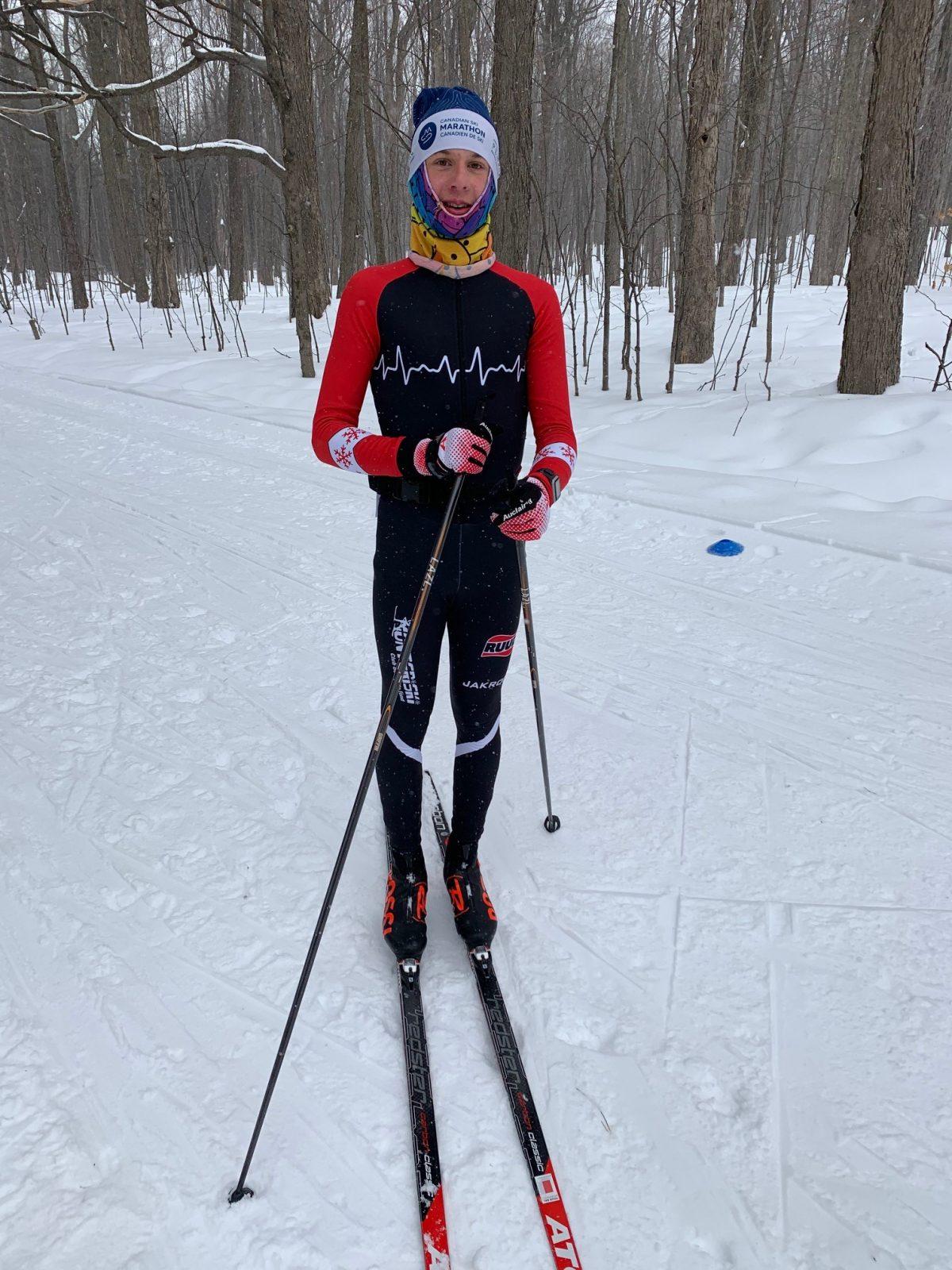 Ski de fond : Une bourse remise au Bouchervillois Émile Legault