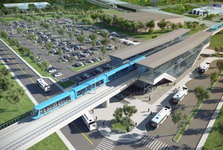 Les maires de la MRC demandent un prolongement du REM dans l'axe de l'autoroute 30