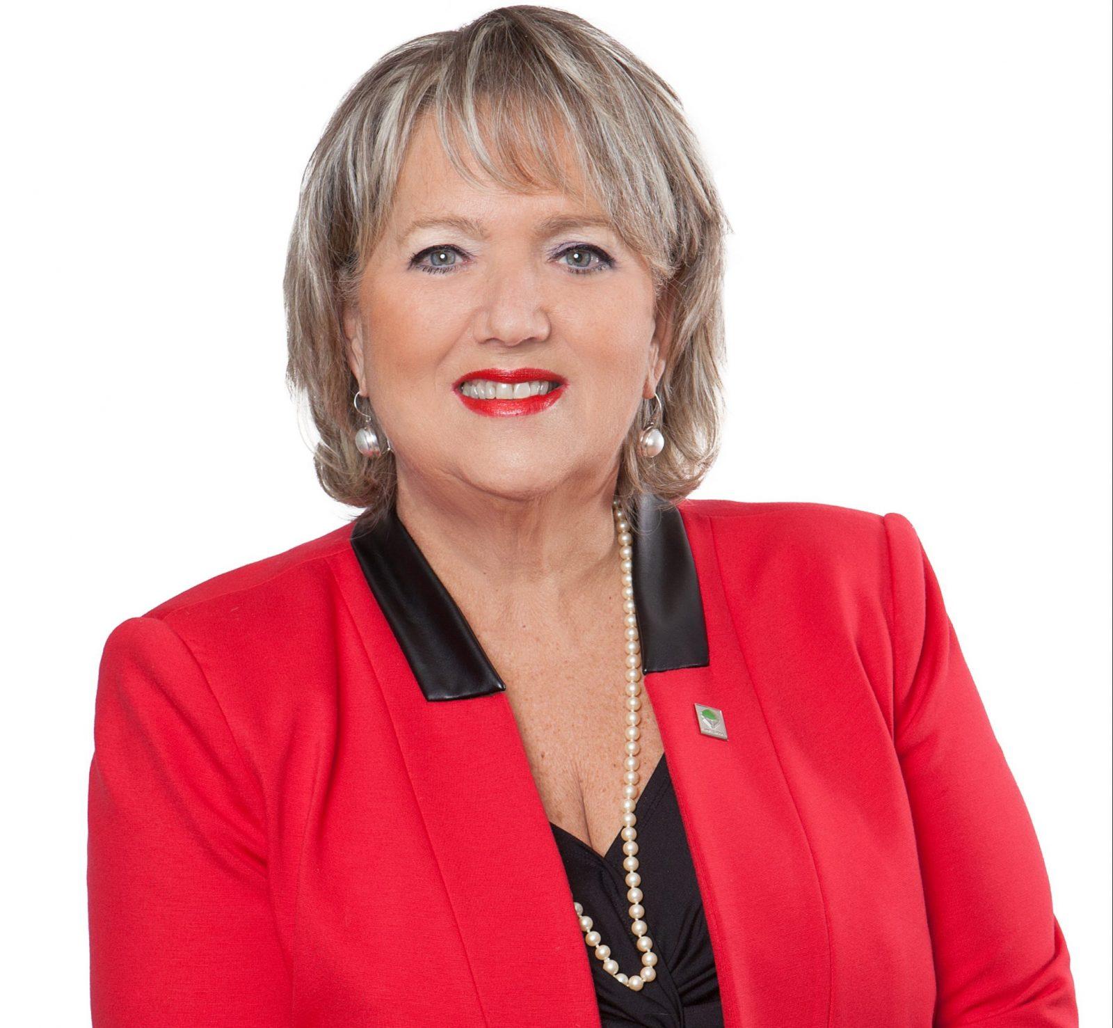 La conseillère Nicole Marchand, mairesse suppléante pour les mois de mai, juin et juillet
