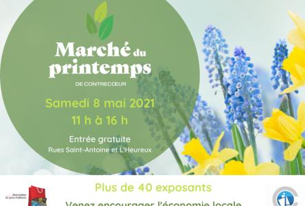 Le marché du printemps animera le centre-ville en mai à Contrecoeur