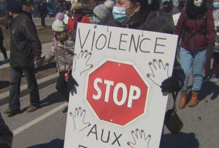 Violence conjugale et féminicides: 223 M$ pour mieux protéger les femmes