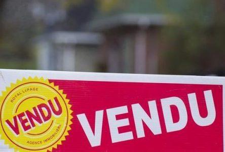 Les propriétés résidentielles se vendent en un temps record