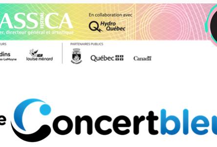 leconcertbleu.com : la plateforme numérique destinée  au milieu de la musique classique obtient l'appui du gouvernement du Québec