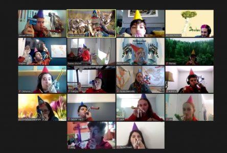 Le 64e Groupe scout de Saint-Amable souligne un an de scoutisme virtuel