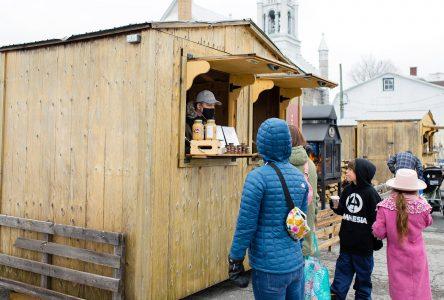 Le tout premier Marché des sucres de Sainte-Julie remporte un vif succès