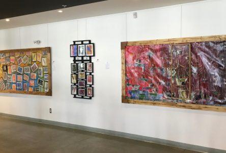 L'artiste Roger Renaud expose à la salle Les Touillés du Café centre d'art