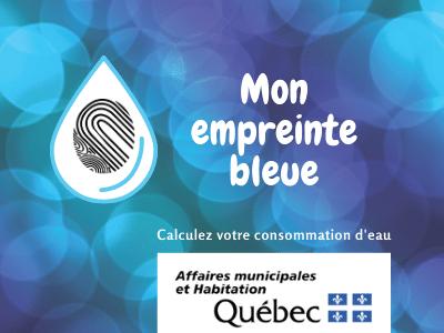 Régie intermunicipale de l'eau potable : Mon empreinte bleue