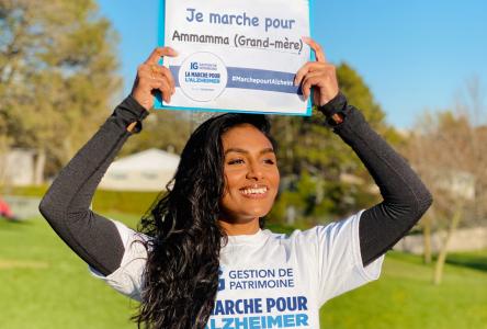 Marche virtuelle pour l'Alzheimer jusqu'au 30 mai