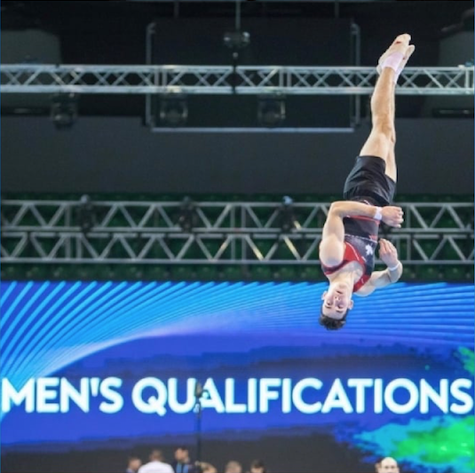 Le gymnaste Nathan Yvars veut vivre le rêve olympique