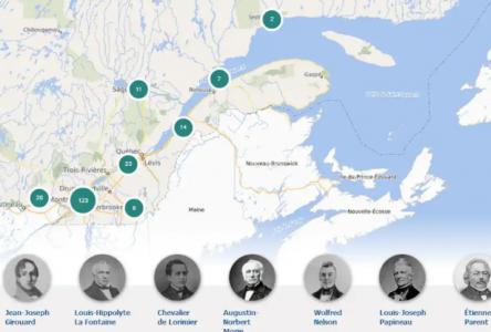 L'histoire des patriotes du Québec mise en valeur par une carte interactive