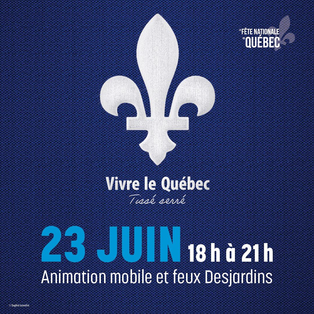 Découvrez les festivités de la fête nationale à Boucherville