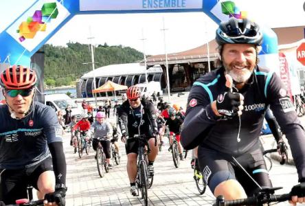 1 000 000 de km Ensemble du Grand défi Pierre Lavoie : mission accomplie!