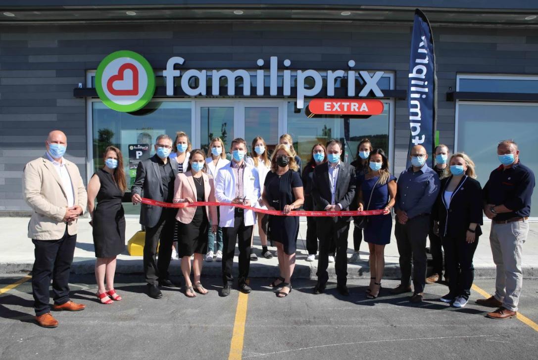 Le début d'une nouvelle aventure pour la Pharmacie Jean-Philippe Lambert!