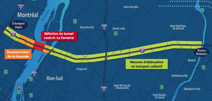 Tunnel La Fontaine : des travaux en cours pour éviter la surchauffe en 2022 et 2023