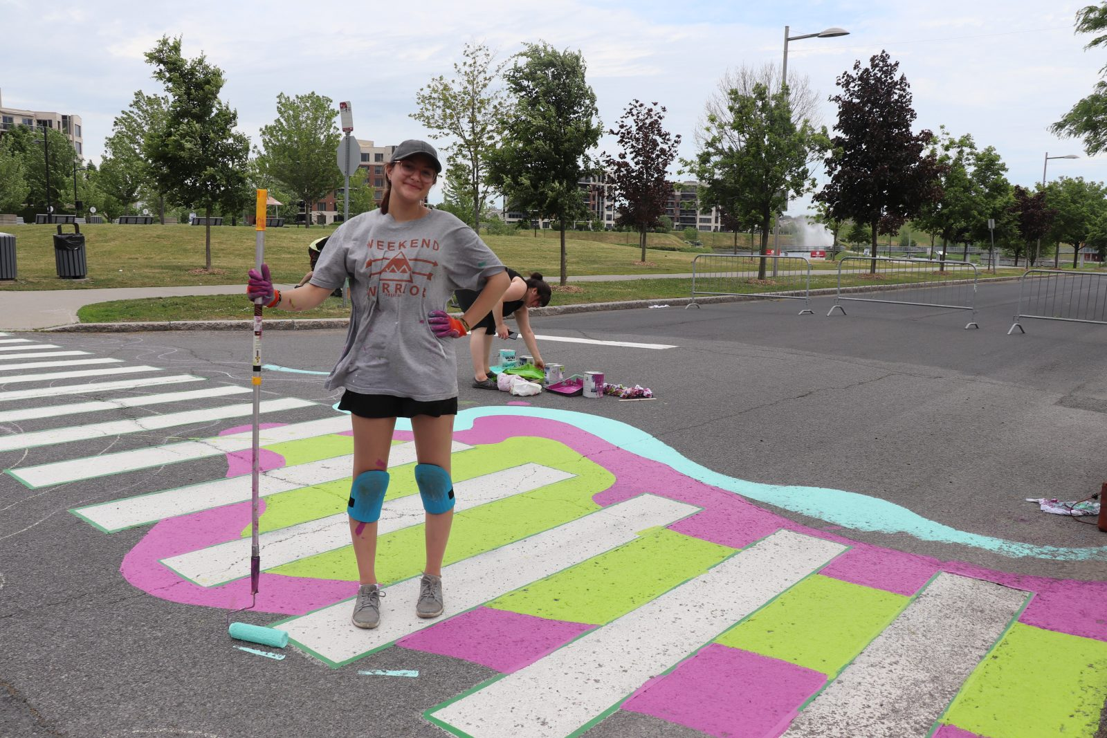 L'art de rue envahit le Centre urbain de Boucherville