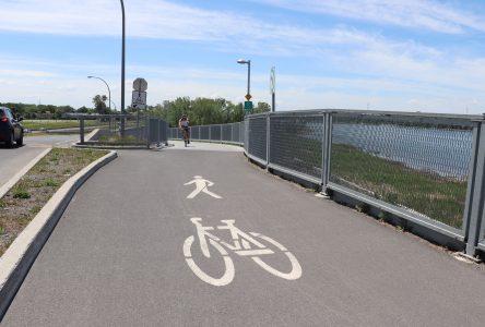 La Ville de Boucherville appuie un projet de passerelle piétonne et cyclable vers l'île Charron