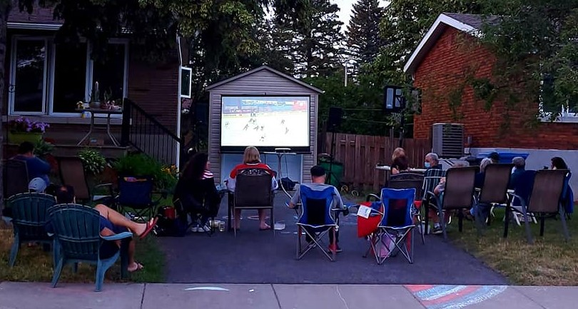 La fièvre du hockey atteint la…. rue De Monts !