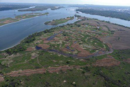 Canards Illimités Canada s'allie au gouvernement du Québec et à TC Énergie pour conserver des milieux humides abritant une biodiversité exceptionnelle sur l'île Sainte-Thérèse