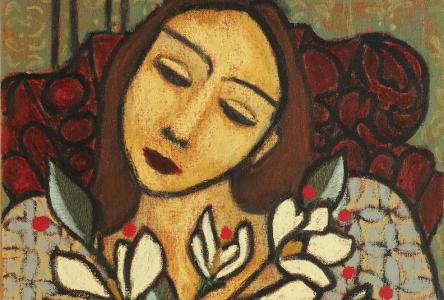 La bibliothèque de Sainte-Julie présente l'exposition Le radeau des cimes de l'artiste Isabelle Grondin
