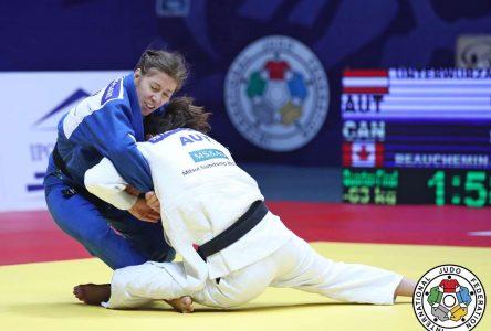 La judoka Catherine Beauchemin-Pinard remporte la médaille de bronze aux Jeux olympiques de Tokyo
