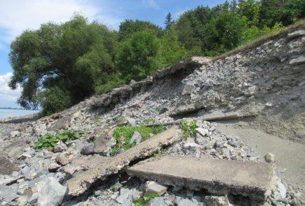 Érosion des berges: Des citoyens autorisés à poursuivre le fédéral pour 50 millions $