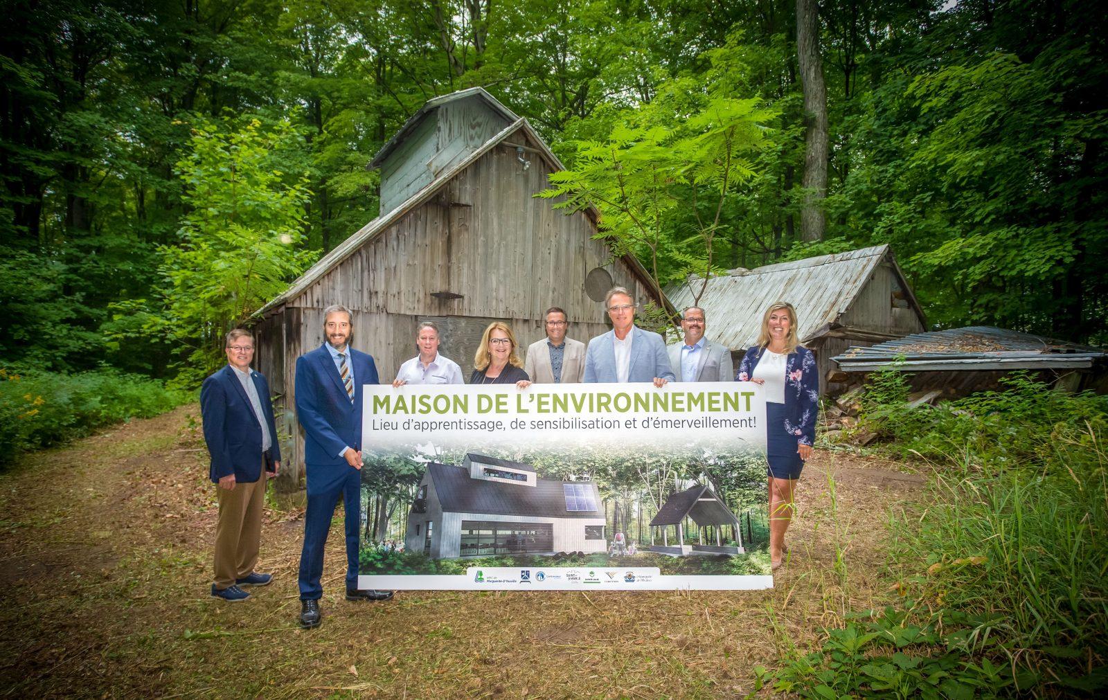 Maison de l'environnement: naissance d'un important projet écologique dans la MRC