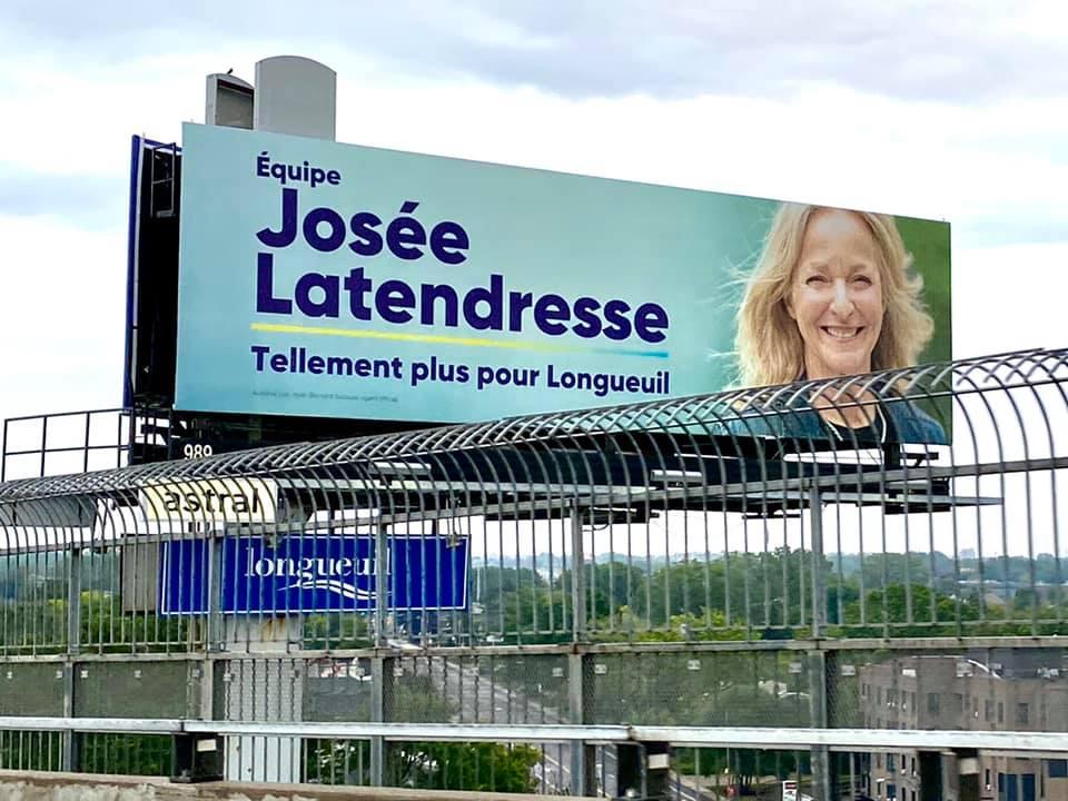 Les affiches électorales apparaissent, puis disparaissent à Longueuil