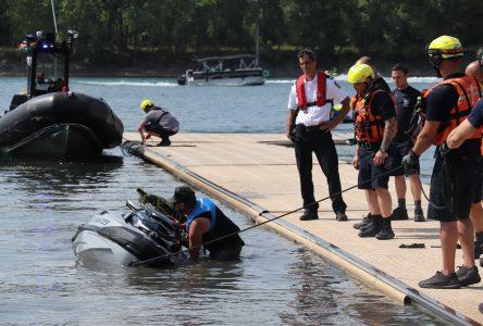 Les pompiers ont dû intervenir à plus de 50 reprises sur le fleuve Saint-Laurent depuis le début de l'été