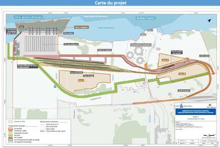 Lancement  d'une pétition concernant le projet du port de Montréal à Contrecœur