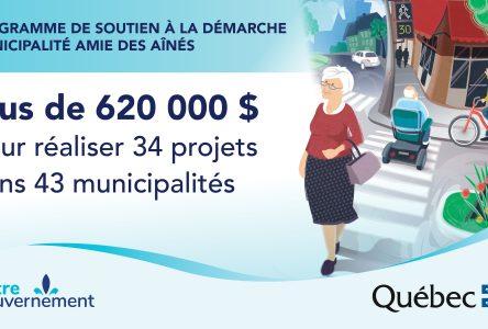 14 000 $ pour la mise à jour d'une politique et d'un plan d'action pour les ainés de Sainte-Julie