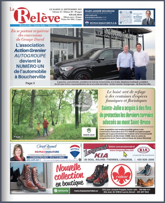 Boucherville -  21 septembre 2021