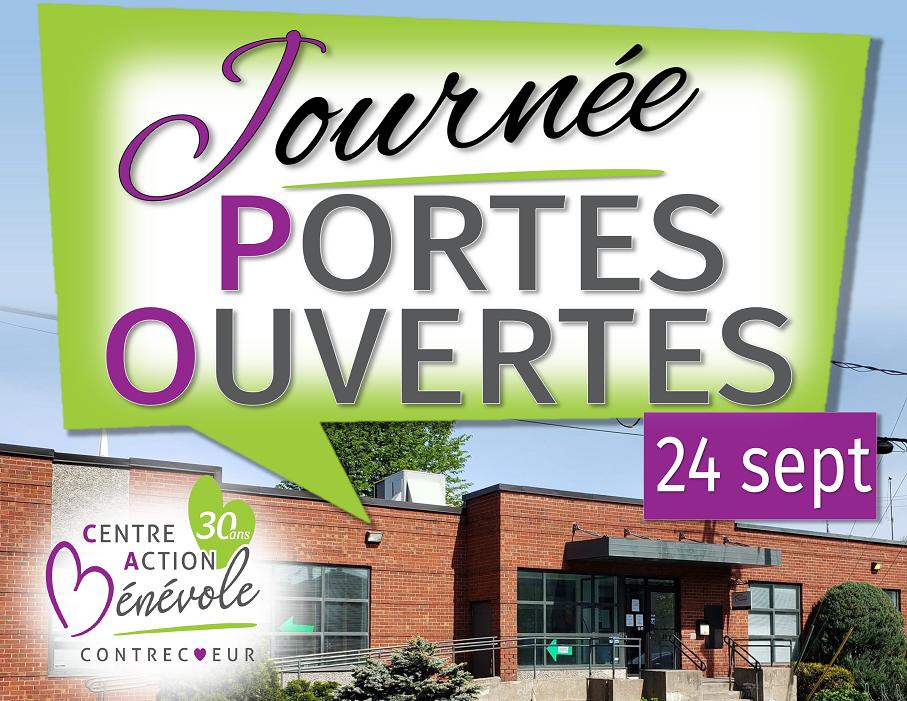 Venez visiter les nouveaux locaux du CAB Contrecoeur lors des journées portes ouvertes