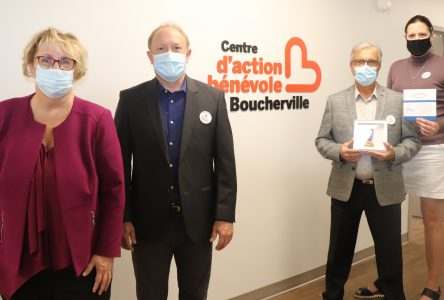 Maître d'œuvre de la Maison du bénévolat: le Centre d'action bénévole de Boucherville reçoit le prix Pierre-Boucher