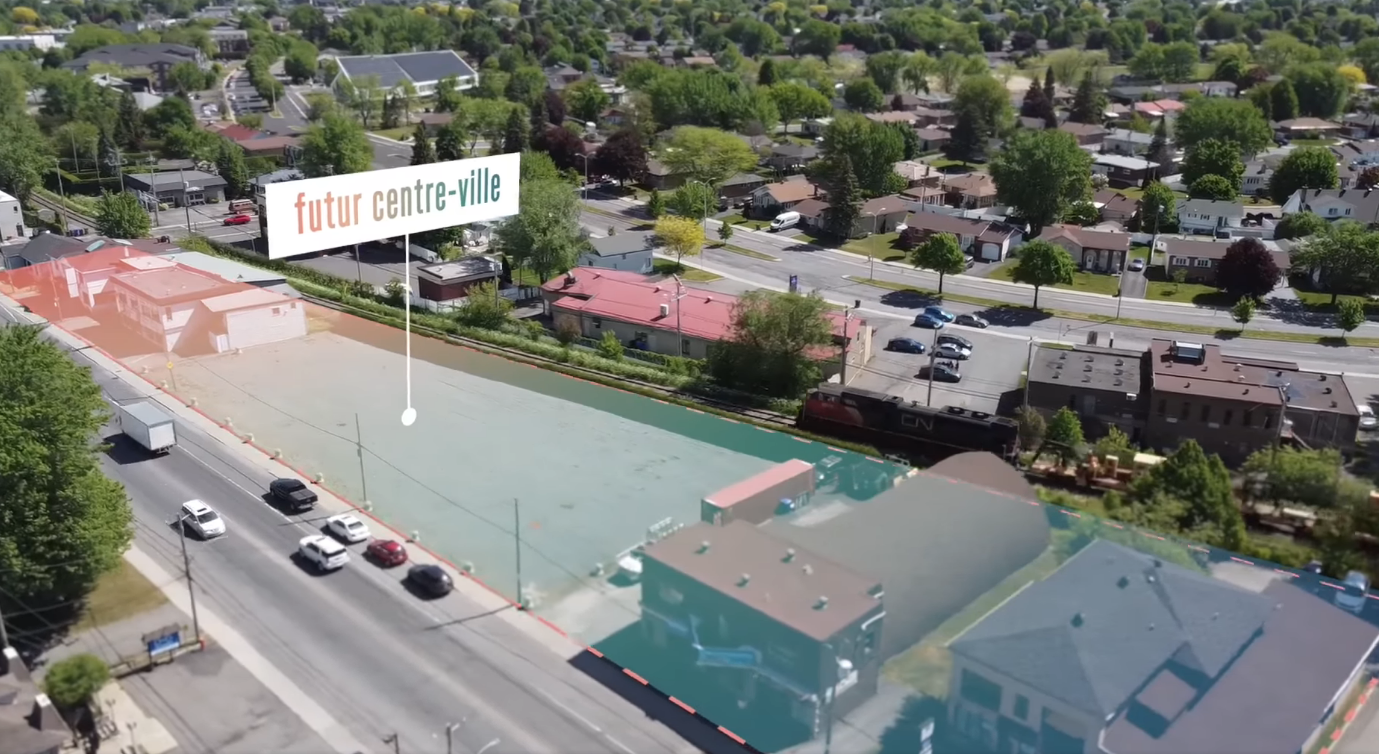 Le futur centre-ville de Varennes dévoilé en vidéo